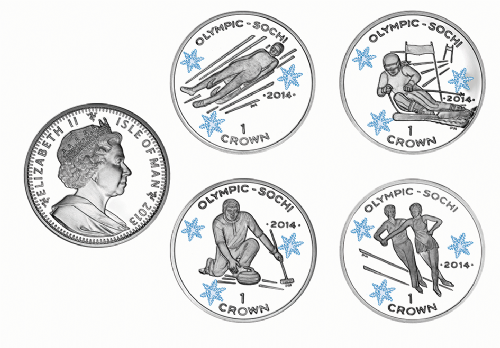 Crowns for Winter Olympics of 2014